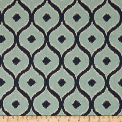 Moda Mixologie Home Decor Linen Blend Cosmopolitan Ice/Blueberry