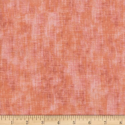 Timeless Treasures Studio Brushed Linen Texture Salmon