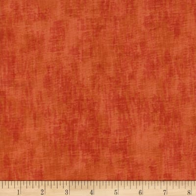 Timeless Treasures Studio Brushed Linen Texture Fire