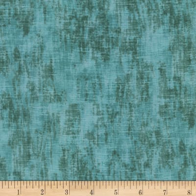 Timeless Treasures Studio Brushed Linen Texture Pond