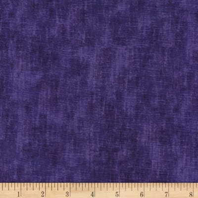 Timeless Treasures Studio Brushed Linen Texture Grape