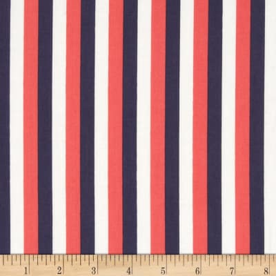 Dear Stella French Lessons Stripe Red