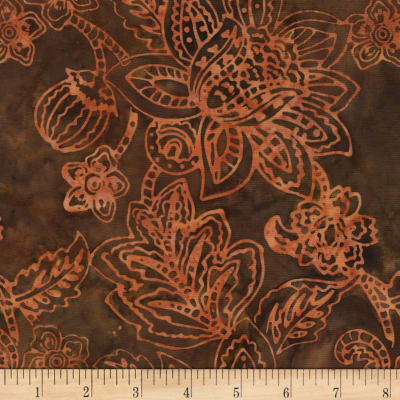 Timeless Treasures Tonga Batik Spice Market Jacobean Floral Harvest