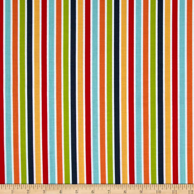 Riley Blake Play Ball Stripe Multi