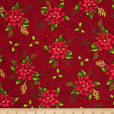 Do You See What I See Book Poinsettia Red