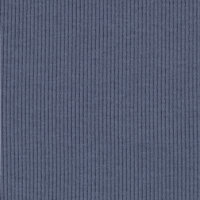 Cotton Rib Knit Cadet Blue