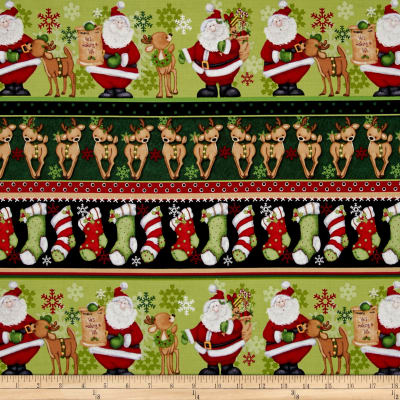 Kringle Krossing Novelty Stripe Multi