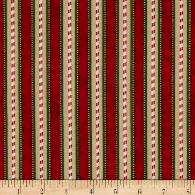 Kringle Krossing Stripe Red