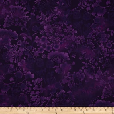 Natural Wonders Wildflower Silhouettes Purple