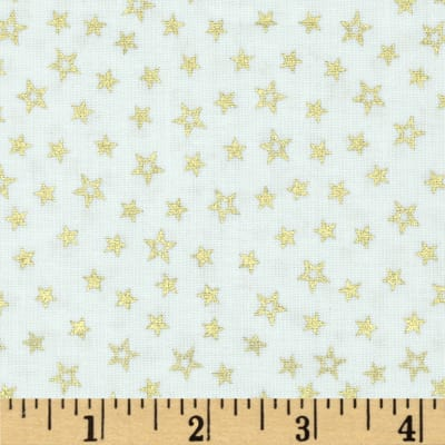 Pearle Gold Stars White/Gold Pearl