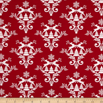 Winter Essentials III Damask Red