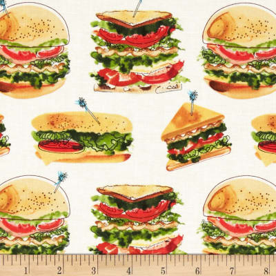 Let's Do Lunch Sandwiches White