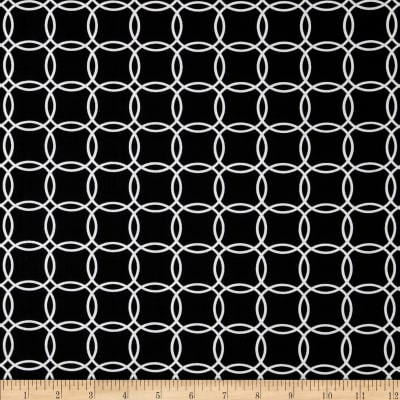 Metro Living Interlocking Circles Black