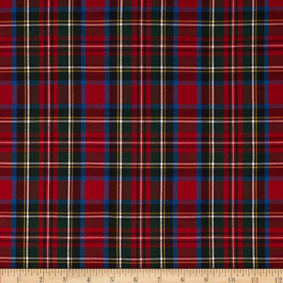 Kaufman House of Wales  Lawn Plaid Multi