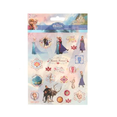 Disney's Frozen Stickers (2 Sheets)