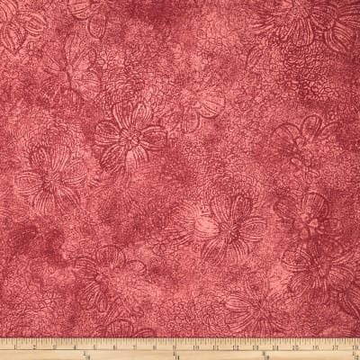 Jinny Beyer Palette Floral Etch Normandy Rose