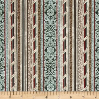 French Quarter Faubourg Teal