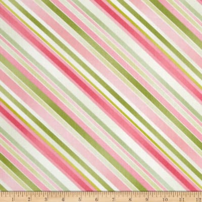 Sundance Diagonal Stripe Pink/Green