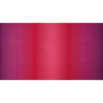 Harlequin Metallic Uneven Mirror Stripe Fuchsia