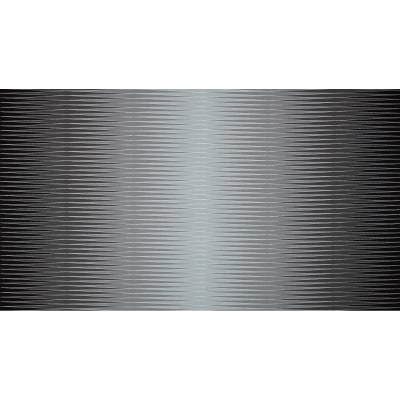 Harlequin Metallic Uneven Mirror Stripe Smoke