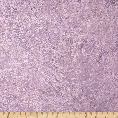 Island Batik Angel Med Purple Scroll