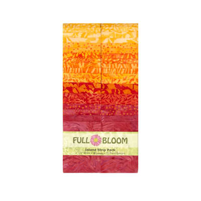 "Island Batik Full Bloom 2.5"" Island Strips"