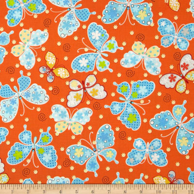 Kimmy's Sonata Butterflies Orange