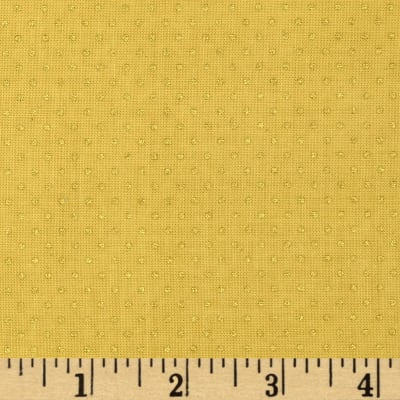 Gold Standard Metallic Pin Dot Ochre/Gold