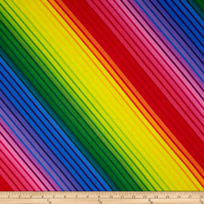 Kanvas Bright Idea Diagonal Rainbow Multi