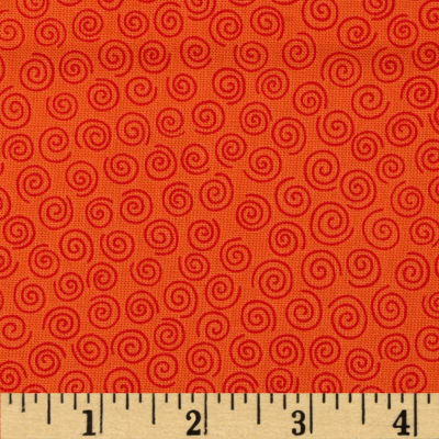 Kanvas Boo Basics Swirl New Orange