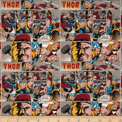 Marvel Comics Thor Yellow/Red