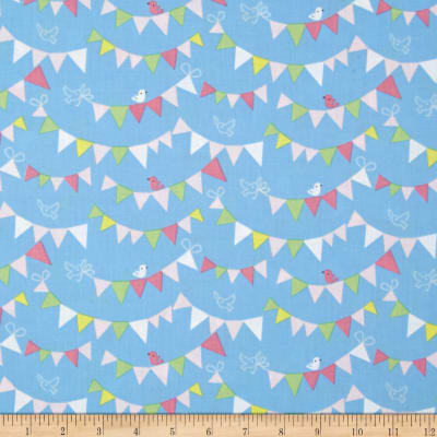 Blend Hip Hooray Bunting Day Blue