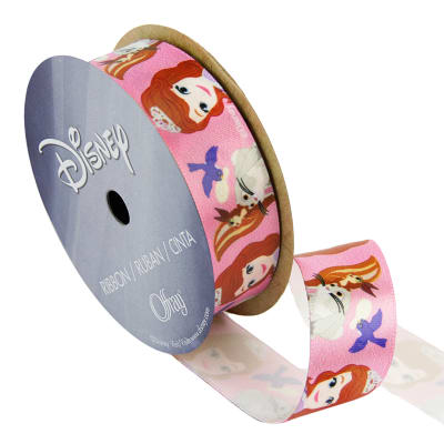 "7/8"" Sofia The First Ribbon Friends Pink"