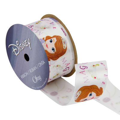 "1 1/2"" Sofia The First Ribbon Magic Purple"