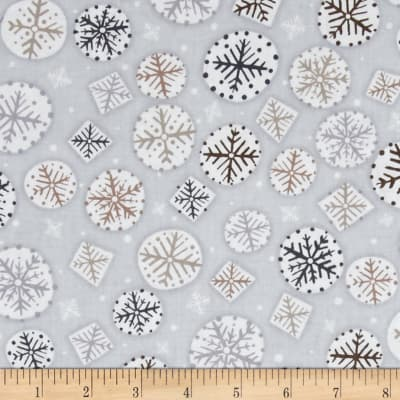 Kanvas Shades of Winter Winter Flurries Silver