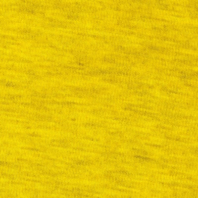 Rayon Rib Knit Heather Yellow