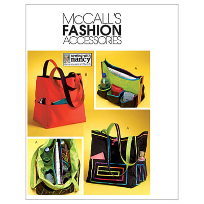 McCall's Totes Pattern M4851 Size OSZ