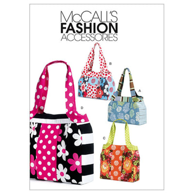 McCall's Bags Pattern M6335 Size OSZ