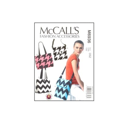 McCall's Bags Pattern M6936 Size OSZ