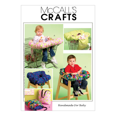 McCall's 3-In-1 Shopping Cart Cover Pattern M5721 Size OSZ