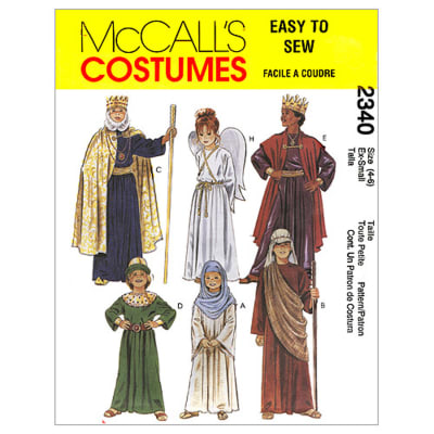 McCall's Christmas Costumes Pattern M2340 Size LRG
