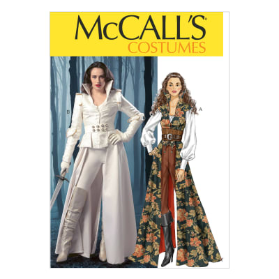 McCall's Misses' Costumes Pattern M6819 Size A50