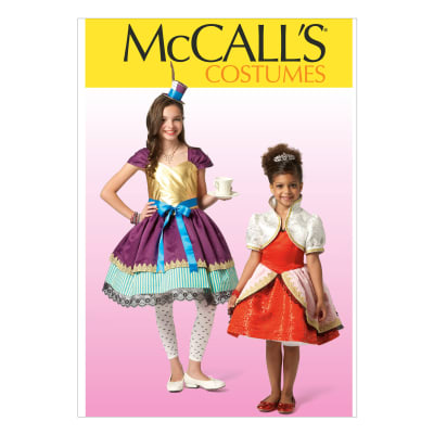 McCall's Children's/Girls' Costumes Pattern M7036 Size CCE