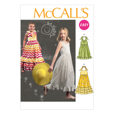 McCall's Children's/Girls' Dresses Pattern M6736 Size CCE