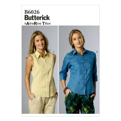 Butterick Misses' Top Pattern B6026 Size B50