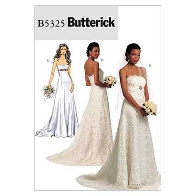 Butterick Misses' Dress Pattern B5325 Size AA0