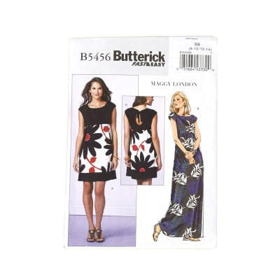 Butterick Misses'/Misses' Petite Dress Pattern B5456 Size BB