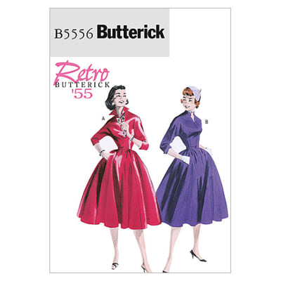 Butterick Misses' Dress and Belt Pattern B5556 Size BB0