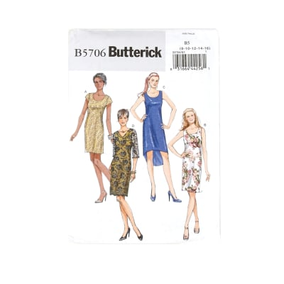 Butterick Misses'/Misses' Petite Dress Pattern B5706 Size B50