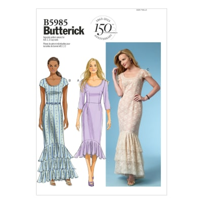 Butterick Misses' Dress Pattern B5985 Size A50